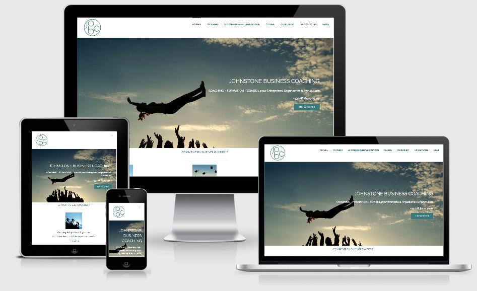 Création du site web d'une business Coach