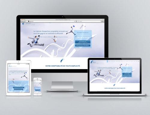 Site Web responsive CTA UX du cabinet d'expertise-comptable SIGOT
