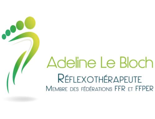 Logo et Charte graphique de la réflexothérapeute Adeline Le Bloch