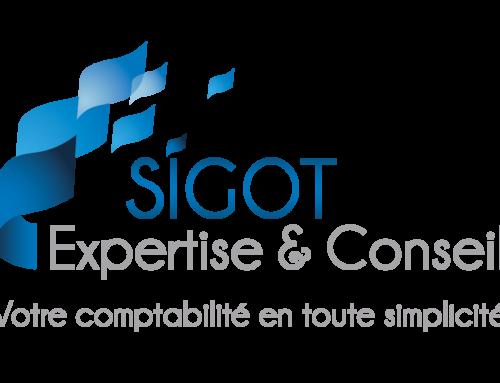 Logo, charte graphique et cartes du Cabinet d'expertise comptable SIGOT